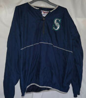 2004 Seattle Mariners BRET BOONE Pre Game Used Worn Warm Up Bench Jacket