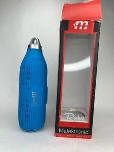 Malektronic Rocket Wireless Bluetooth Outdoor Speaker Blue Boxed New