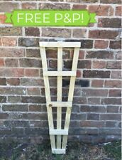 🥇3ft Fan Trellis Garden Treated Timber Hand made FREE POSTAGE
