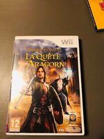 JEU Nintendo Wii Wii u LE SEIGNEUR DES ANNEAUX LA QUETE D'ARAGON avec boitier