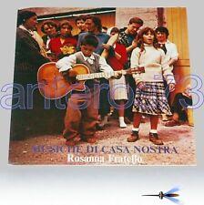 """ROSANNA FRATELLO """"MUSICHE DI CASA NOSTRA"""" RARO LP"""