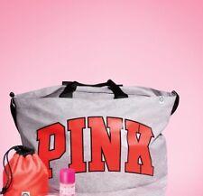 Victoria's Secret 2017 PINK WEEKENDER TOTE GYM Travel bag GREY MARL NEW