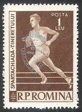 Romania 1959 Balkan Games/Sports/Athletics/Running/Discus 1v silver o/p (n42114)