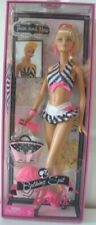 Nib 50th Anniversary Collectors Then & Now Bathing Suit Barbie Doll Girls Toy 3+