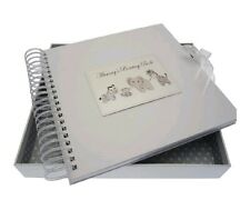 White Cotton Cards Silver Toys Mummy's Boasting Card and Memory Book. Scrapbook