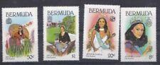 Bermuda 1980 Miss Mondo 1979-80 Gina Swainson 387-90 MNH