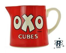 VINTAGE RETRO STYLE OXO CUBES 700ML CERAMIC CREAM MILK GRAVEY JUG