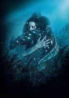THE SHAPE OF WATER Movie PHOTO Print POSTER Textless Film Art Sally Hawkins 004