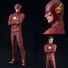 Super Hero DC Comic The Flash Barry Allen Action Figure Model Collection 17.5CM