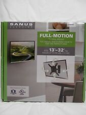"SANUS FULL MOTION TV WALL MOUNT FITS 13""-32"" TV'S UP TO 25 LBS MODEL#FSF207"