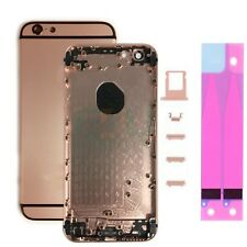 For Apple iPhone 6 Housing Frame Metal Back Cover - Pink & Black
