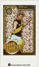 2010 AFL Herald Sun Cards Sharp Shooters Subset SS12 Mitch Morton (Richmond)