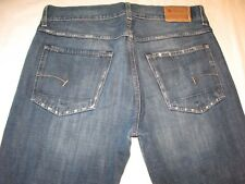 G - Star Raw Jeans Mens Low Loose Relaxed Sz 34 X 26