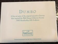 """Dumbo"" Fine Art Print - Walt Disney Collectors Society 1995"