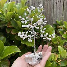 """Moonstone Tree (Moonstone Chips / Moonstone Base) """"CRYSTAL TREE"""""""