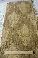 """Antique 19thC French Heavy Woven Jacquard Frame Design Fabric~L-80""""X W-18"""""""