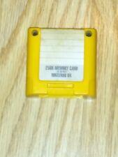 Nintendo 64 memory card third party yellow