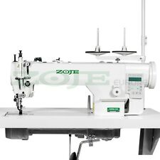 ZOJE machine à coudre industrielle - double entrainement - coupe fils -NEUF!