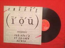 FREEEZ IOU MEGAMIX I DUB YOU WE GOT THE JAZZ VIRGIN ARTHUR BAKER VINYLE 33T LP