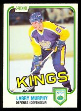 1981 82 OPC O PEE CHEE HOCKEY 148 LARRY MURPHY RC NM LOS ANGELS L A KINGS CARD