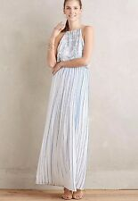 Anthropologie Livia Maxi Dress By Kas New York Size XL Retails $188.00