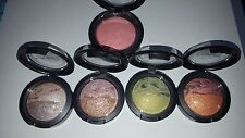 MAC MINERALIZE BLUSH & FOUR EYE SHADOWS (THREE DISCONTINUED LIMITED COLORS!)