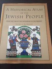"""A Historical Atlas of the Jewish People"" Eli Barnavi (Hardcover, 1992) *VGC*"