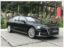 Audi A8L 2017 Medal Diecast Model Car 1:18 Scale Car Model Toy Collectible Black