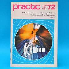 DDR practic 3/1972 Dia-Kopiergerät Bootsmotore Trabant-Staubfilter Mini-Lampe W