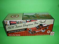 TEXACO 1926 SEAGRAVE PUMPER - #2 Fire Truck Series - NEW - MINT IN BOX