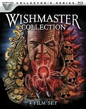 WISHMASTER COLLECTION 4 FILM SET New Blu-ray Vestron Video Collector's Series