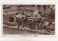 The Imperial Hotel Torquay Vintage Aerial RP Postcard Devon 493b