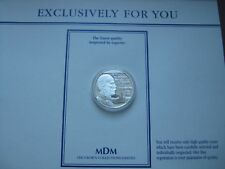 Luxembourg 1996 20 Euro Silver Proof Coin - Henri Des Pays-Bas MDM COA card