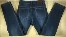 Nice Men's Lee Blue Zip Fly 5 Pocket W30 Denim Jeans Excellent Condition