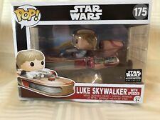 Funko Pop! Star Wars #175 Luke Skywalker With Speeder [3Top]