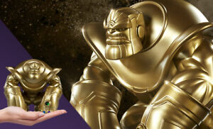 SDCC 2019 SIDESHOW UNRULY INDUSTRIES THANOS MAD TITAN GOLD EDITION TOY FIGURE