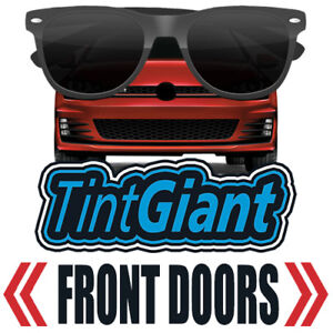 TINTGIANT PRECUT FRONT DOORS WINDOW TINT FOR BMW X6 15-19