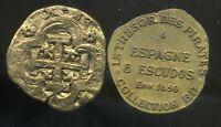 ESPAGNE 8 escudos  1650   COLLECTION BP    ( bis )