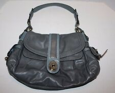 New Genuine Coach Gray Leather Hobo Legacy Handbag K0869-13203 Ships FREE!    BH
