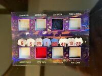 2020 Leaf ITG Used - Musial / Brock / McGwire / Pujols / Smith Relic #d 5/9