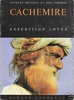 Livre Cachemire expédition Lotus Jacques Biltgen et Guy Thomas book