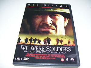 We Were Soldiers * Mel Gibson DVD 2001 DTS *