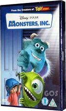 Monsters Inc Walt Disney Pixar Film Classic Childrens Movie DVD New Sealed
