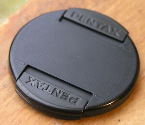 genuine pentax   front clip  on lens cap for 58mm filter