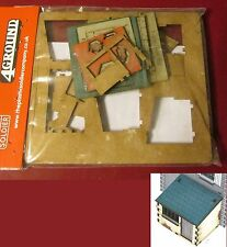 Plastic Soldier Company 4G20006 1/72 The Dairy Lean-To Shed (1) Miniature Nib