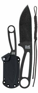 "KA-BAR Becker Eskabar Knife, 3.25"" Blade + Hard Sheath, Paracord, Clam #BK14CP"