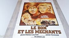LE BON ET LES MECHANTS  ! c lelouch affiche cinema cars citroen