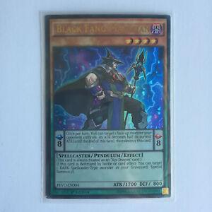 Black Fang Magician - PEVO-EN004 - Ultra Rare - 1st Edition Near Mint US