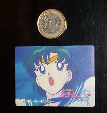 SAILOR MOON BANPRESTO MINI CARD CARDDASS CARTE 24 BANDAI MADE IN JAPAN 1994 NM