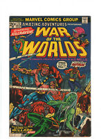 Amazing Adventures #23 GD/VG 3.0 Marvel War of the Worlds 1974 No MVS